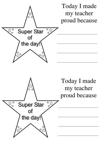 super star certificate