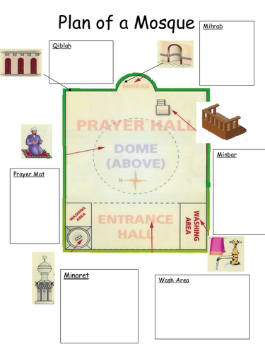 What is in a mosque by rjr 38 teaching resources tes for Search floor plans by features