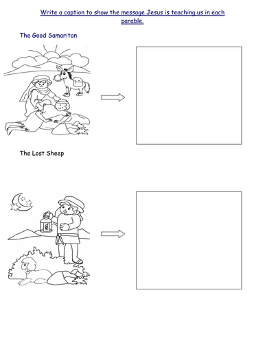 28+ [ The Good Samaritan Worksheets Ks1 ] | 173 best images ...