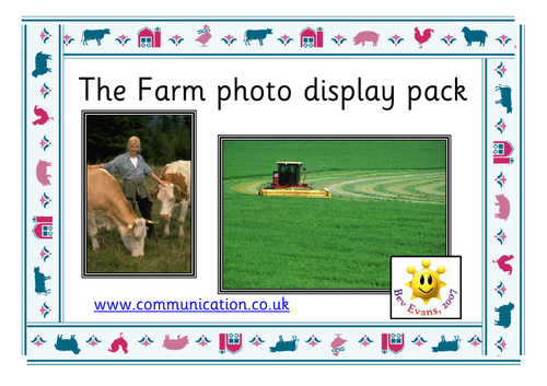 The Farm - Photo Display Pack
