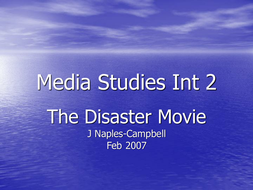The Disaster Movie