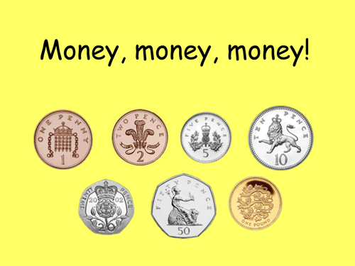 Image result for money ks2