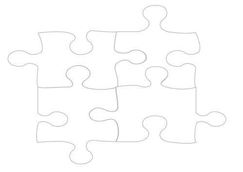 Jigsaw peices