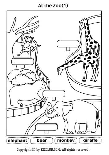 Dear Zoo By Lifeoutreach Teaching Resources Tes