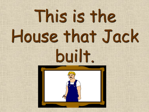 This is the house that jack built PP IWB story