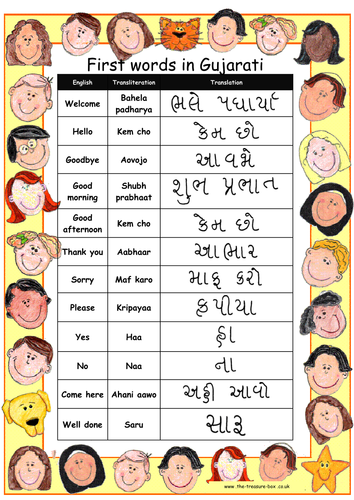 Useful Gujarati words and phrases perfect for Gujarati speakers or work on India or Pakistan