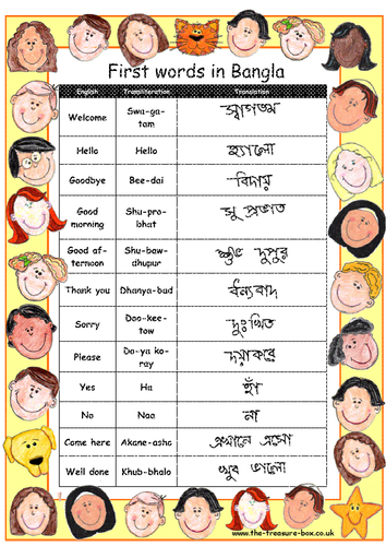 Useful words and phrases in Bengali Bangla Bangladesh