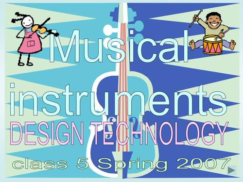 MUSICAL INSTRUMENT POWERPOINT