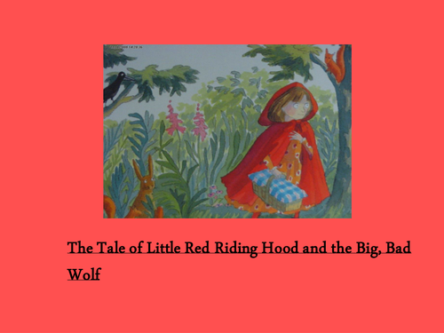 Little Red Riding Hood powerpoint