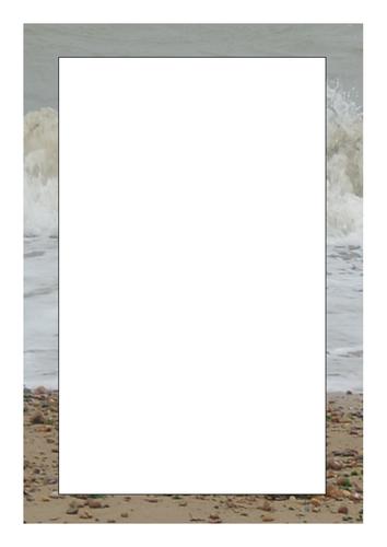 Page Borders Seaside Theme Useful Templates By Mug