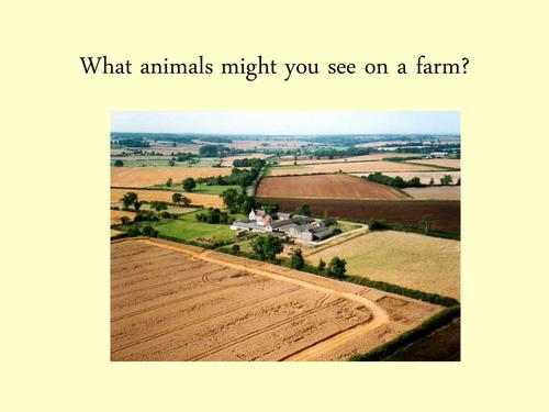 Farm animal powerpoint