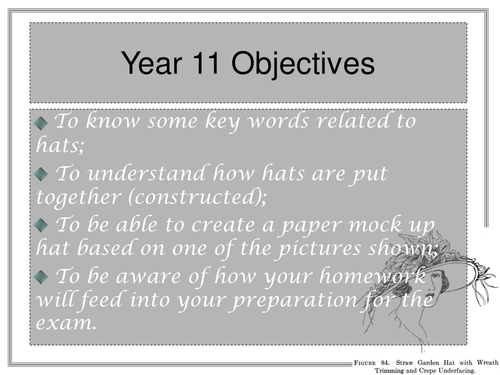 AQA Hat Stuff! (Powerpoints)