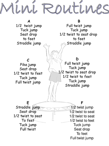 Trampoline routines