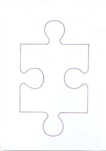 Jigsaw Template By Sophialouisechivers