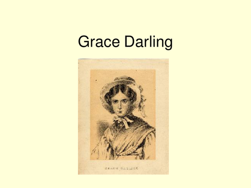 Grace Darling Power point