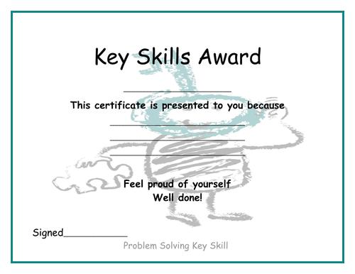 Key Skills Certificates