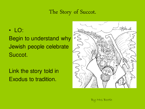Story Of Succot