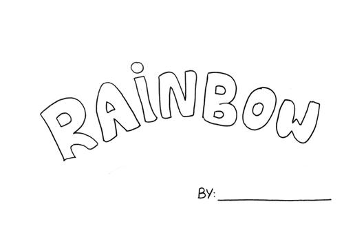 Sing A rainbow Art Book