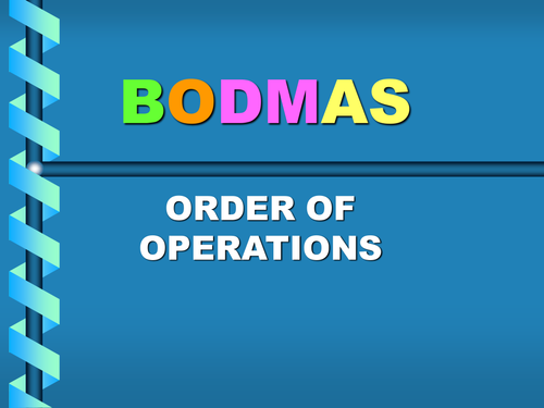 Order of operations animated powerpoint by amy harrison   tpt.