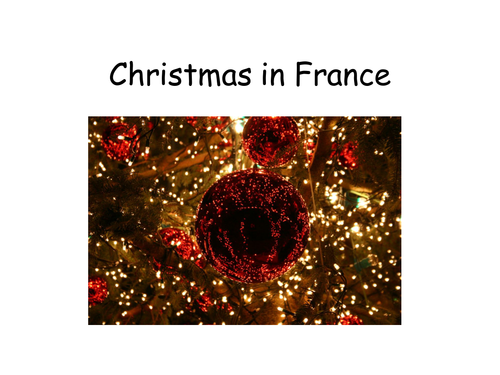 Christmas In France Tradition.Christmas In France Information