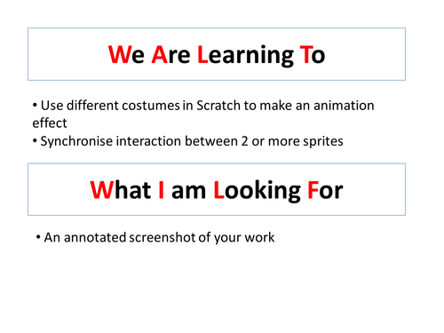 Using Scratch