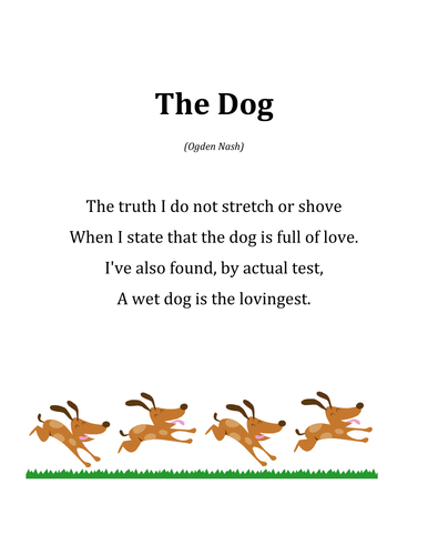 Animal Poems By Lbearss Teaching Resources Tes