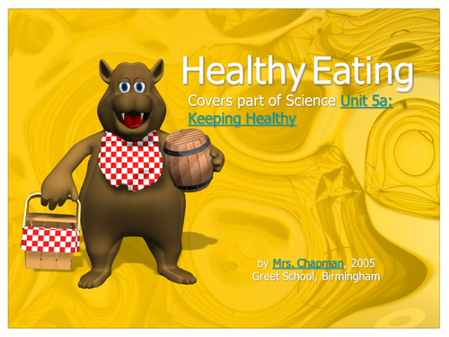 Ppt healthy eating