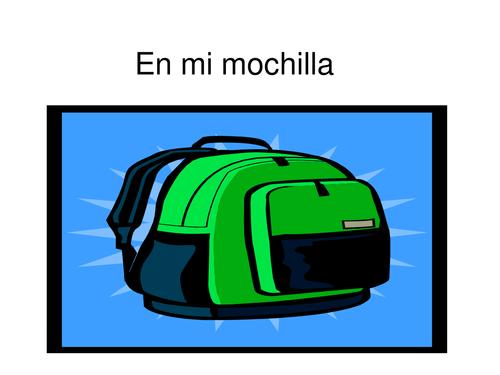 Spanish Classroom Objects Tutorial
