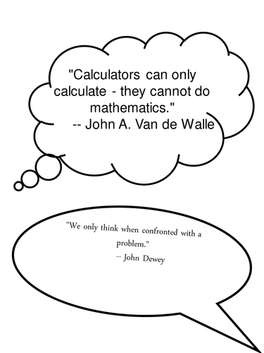 quotes about maths for wall displays posters by amandagoddard