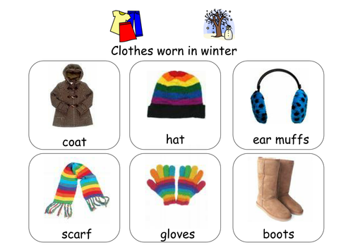 Sorting Weather Clothes By Ibuzzybea Teaching Resources Tes