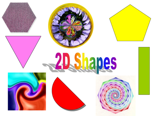 how to teach 2d shapes