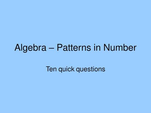 Algebra Countdown. Game. KS3 (11-14 year olds) by bodmans - Teaching ...