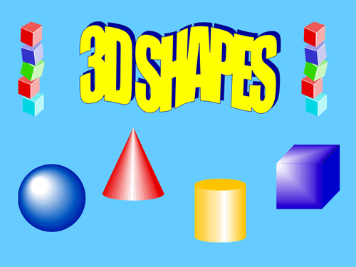 Introduction to 3D Shape Powerpoint by kez1985 - Teaching Resources ...