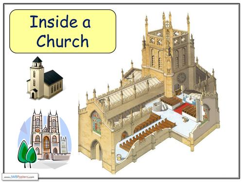 Inside A Church By Chrisrichards