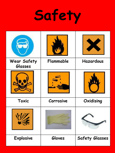 safety poster science tes pdf resources