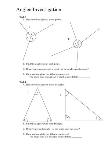 Angles Investigation