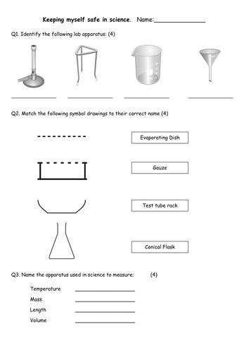 Measuring, Safety & genetics Science Test