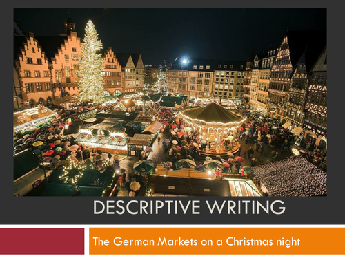 Descriptive essay on christmas sample