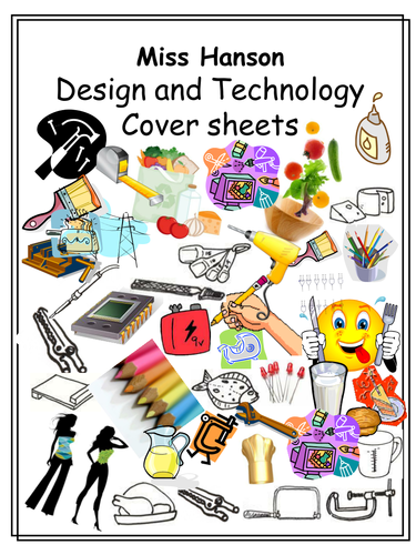 Cover sheets by erica c hanson teaching resources - Design and technology lesson plans ...