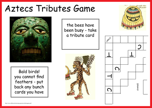 Aztecs Tributes Game