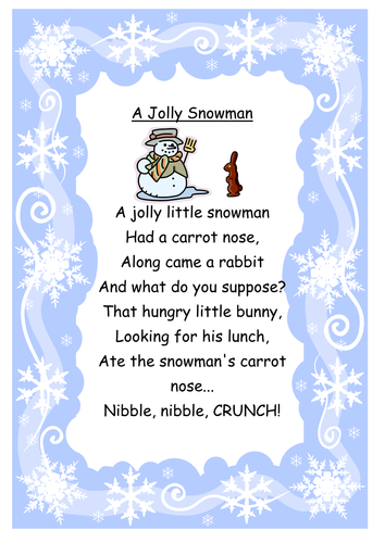 Winter And Christmas Songs By Anna25 Teaching Resources