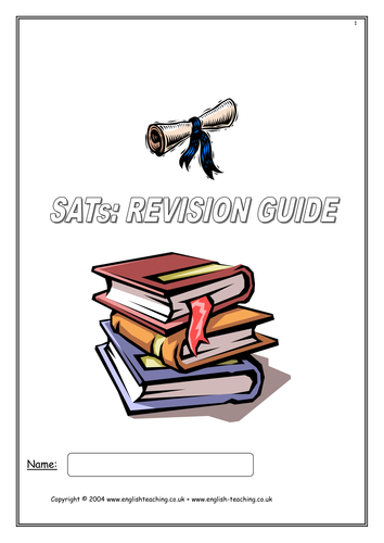 SATs Revision Guide: Paper 1