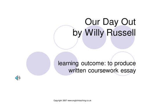 Our Day Out by Willy Russell: Context and Analysis