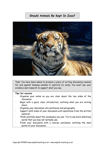 reasons why animals should be kept in zoos