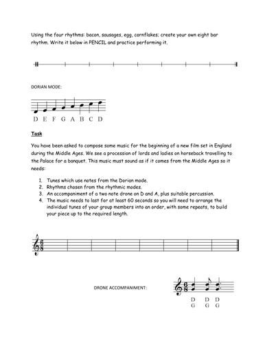 Music in the middle ages/Medieval Music by Matt.Ashford - Teaching ...