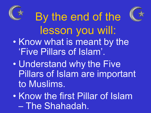 Introduction to the 5 pillars of Islam by Stacey3 ...
