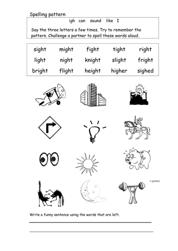 Printables Igh Worksheets igh worksheets bloggakuten spell and read words with by coholleran teaching resources tes