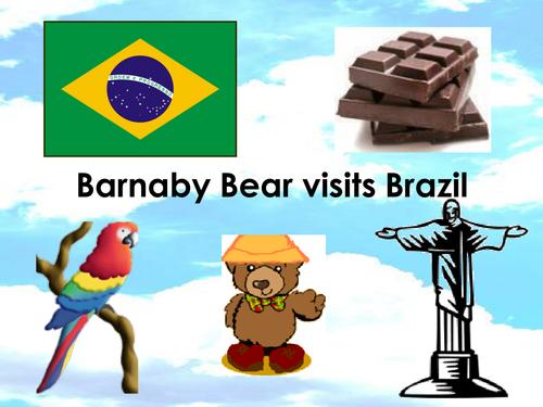 Barnaby visits Brazil