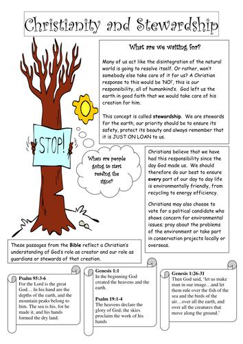 Biblical stewardship powerpoint presentation.