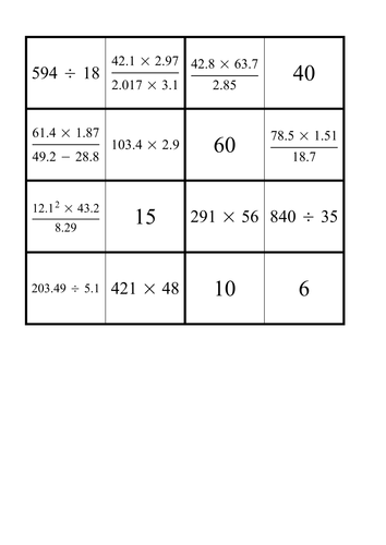 Estimating by rounding to significant figures by sbinning ...